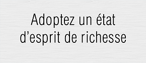 Attirer la richesse